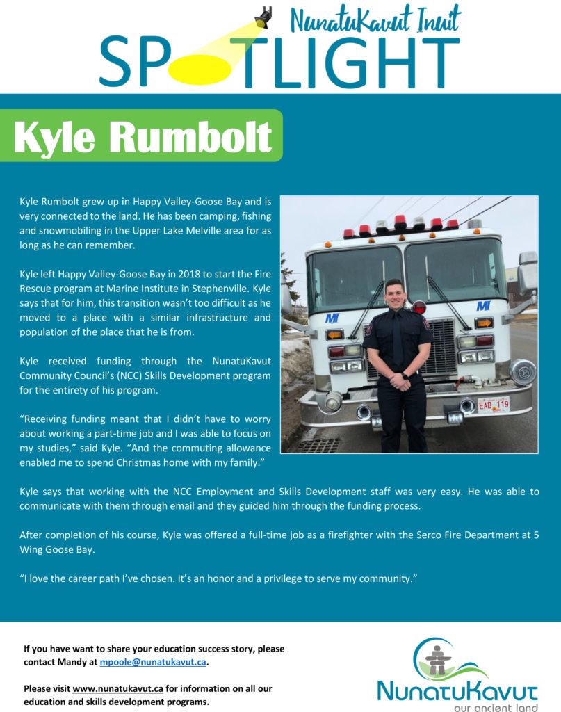 NunatuKavut Inuit Spotlight - Kyle Rumbolt
